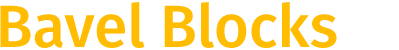 Bavel Blocks Logo